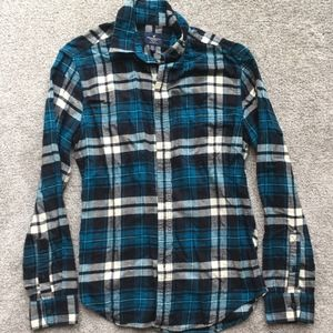 AE Blue flannel